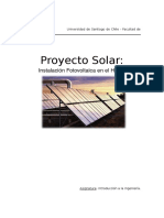 Informe Proyecto Solar