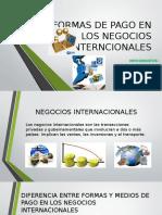 Formas de Pago en Los Negocios Internacionales