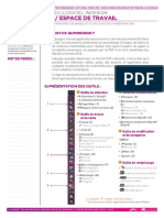 INDESIGN COURS INTERFACE+ESP TRAVAIL