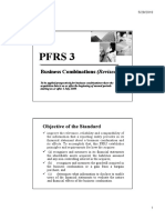 PFRS 3 Business Combinations