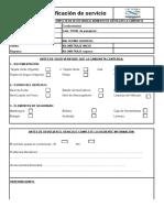Copia de Planilla de Verificacion de Servicio (Camionetas)