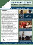 Rep. Pouha's 2016 Legislative Session Report