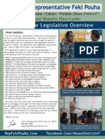Rep. Pouha's 2016 Legislative Session Report