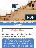 Commitment Building Presentation
