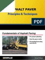 Asphalt Paver Techniques