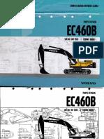 Escavadeira Hidraulica Volvo Ec360blc Ec460b Lc