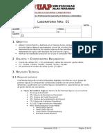 Lab - 01 Compuertas Lógicas