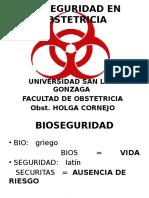 Bioseguridad en Obstetricia i