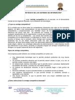 5. El Rol Estrategico de Los Sistemas de Informacion