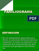 Familiograma Estructural y Dinamico