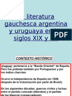 Lengua Narrativa Gauchesca