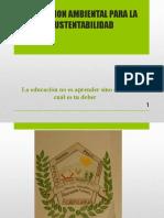 Educación Ambiental Para La Sustentabilidad