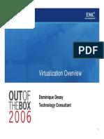 EMC Virtulization Overview