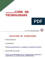 8 Selección de Tecnologías