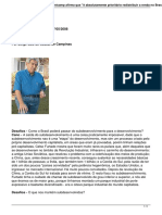 Entrevista Economia Brasileira
