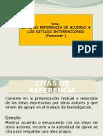 Citas Textuales y Contextuales Trabajo de Investigacion