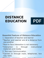 Distance Education (1)