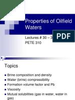 L30 31 Oilfield Waters