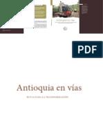 libro Antioquia En Vías