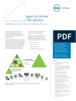 Migration Manager for Active Directory and File Servers Datasheet 67896