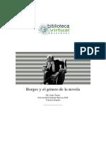 Borges y El Genero de La Novela