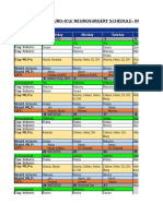 Schedule NICU