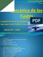Mecanica de Los Fluidos UCSM Estática I