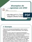 Exemplos de Programas em CNC.pdf