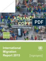Migration Report 2015 by UN