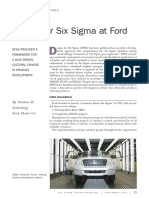 Six Sigma Ford
