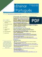 Ensinar Português Boletim 13&14
