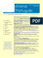 Ensinar Português Boletim 8&9