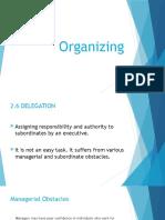 Organizing Engineering Management
