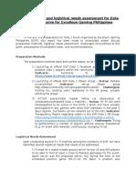 EGP Report - Dota 2 Preparation