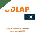 23032015_guia de Examen Nuevo Ingreso Licenciatura UDLAP