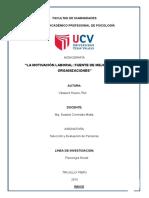 monografia Motivación Laboral