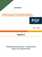 2.-Pruebas Metalurgicas Conminución Laboratorio PUCV_Capitulo2