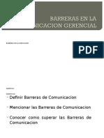 Barreras en La Comunicacion Gerencial II (Autoguardado)