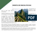 Descubrimiento de Machu Picchu