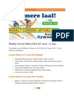 Weekly Current Affairs 2016 27 June – 3 July 1.PDF