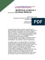 Bioética Word