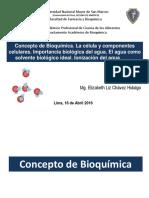 1ra Clase de Bioquimica