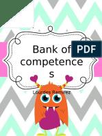 bank of competencies