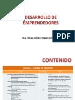 Emprendedores, prototipos