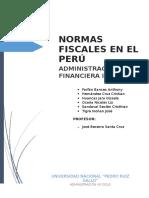 Normas Fiscales en el Peru