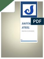 Sanyal Steel- Monnet