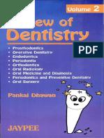 Review of Dentistry Pankaj Dhawan