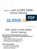 SSIS-SSAS-and-SSRS-MSBI pps | Computer Programming | Data Management