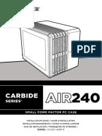 CARBIDE Air240 InstallGuide
