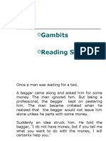 9. Gambits and reading.ppt